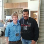 Lucas Viani with Neil deGrasse Tyson