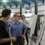 Lucas Viani at his poster