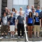 Physics & Astronomy Summer Research students and faculty