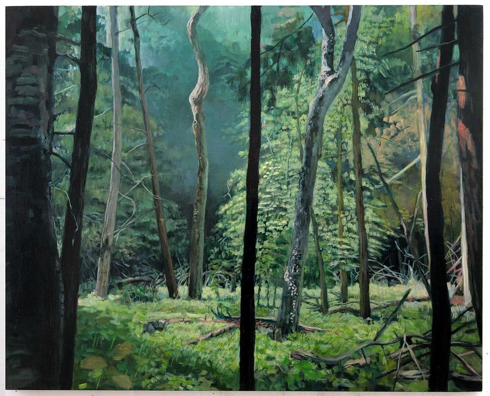 Artist Talk TODAY @ 2pm - Painter Amy Talluto