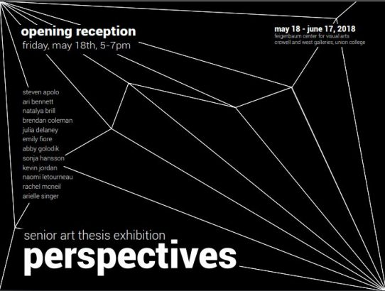 Perspectives: Senior Art Thesis Exhibition