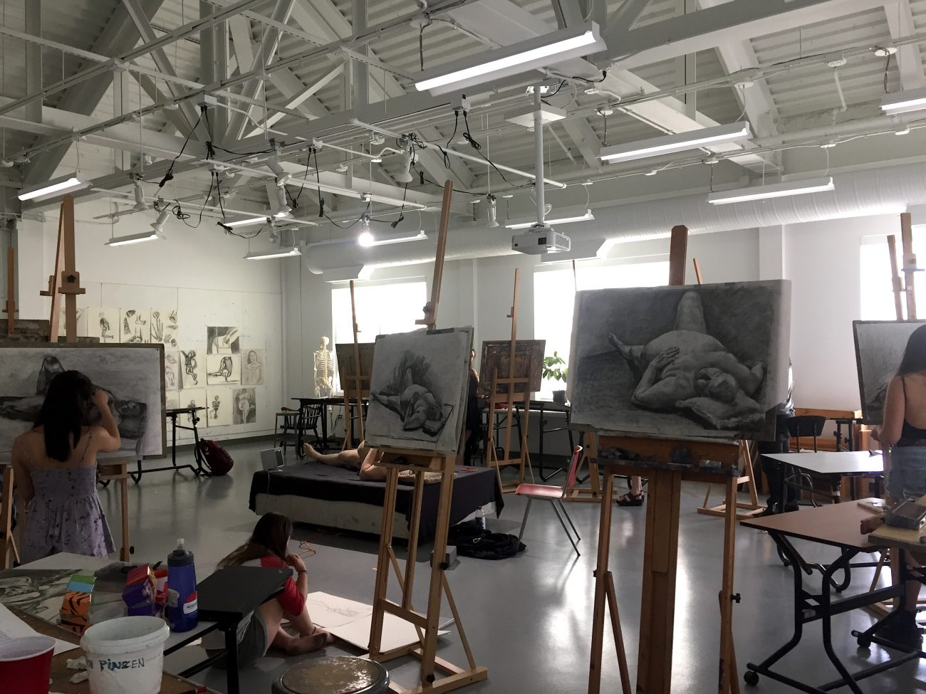 Tuesday Evening Life Drawing (free to all Union students w/ ID)