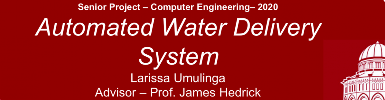 Larissa Umulinga: 2020 Capstone Project