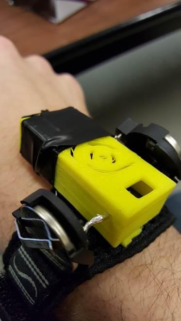 Image of the movement sensor