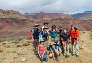 Photo of Plateau Point, Bright Angel Trail, Grand Canyon National Park, March 2014
