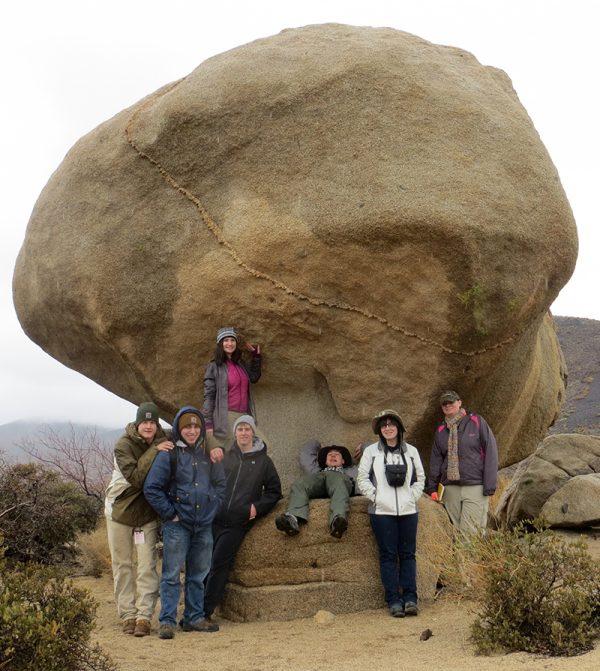 JTNP granite landform