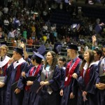Class of 2014 walks stage