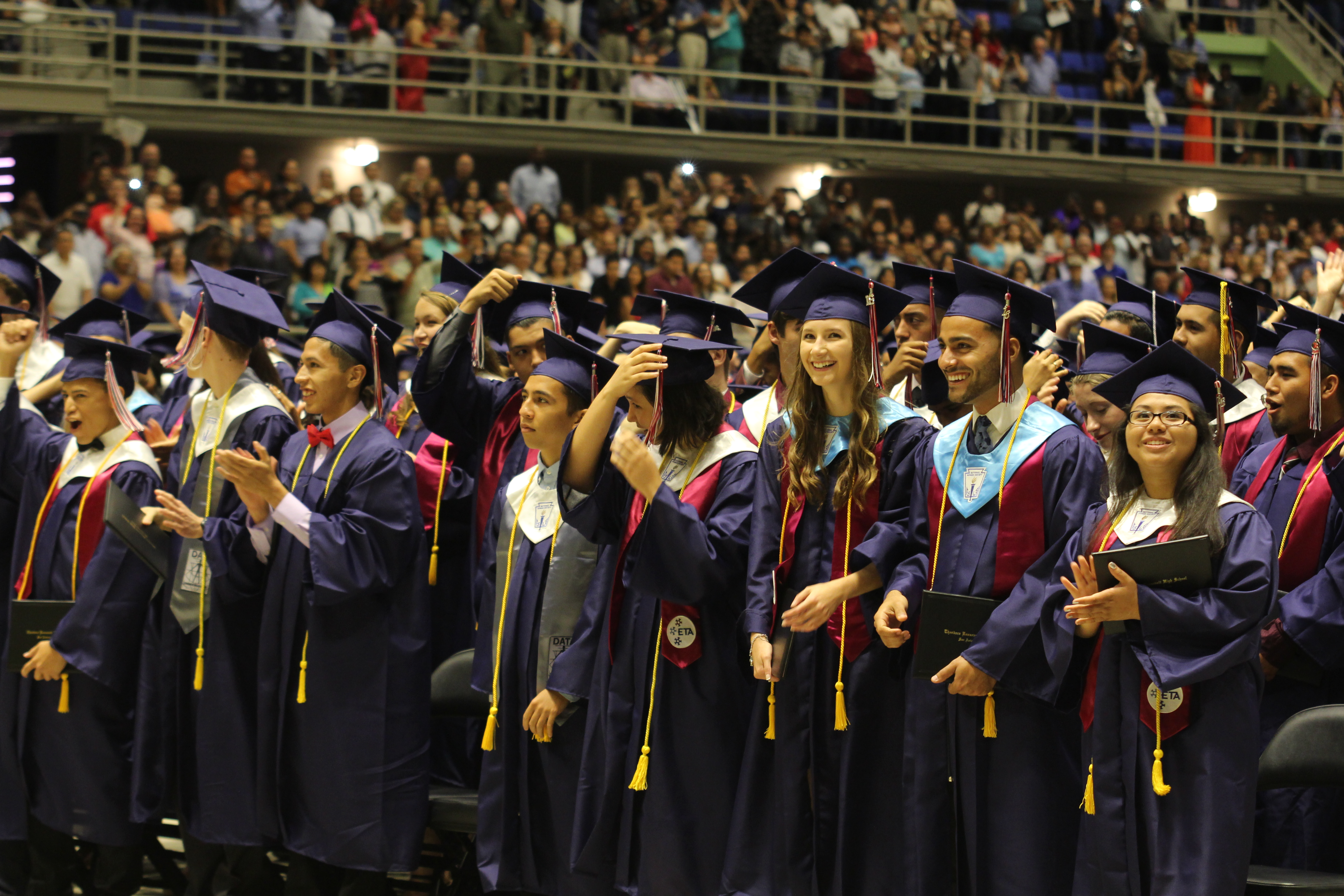 Seniors to place cap and gown orders : The Big Stick Newspaper