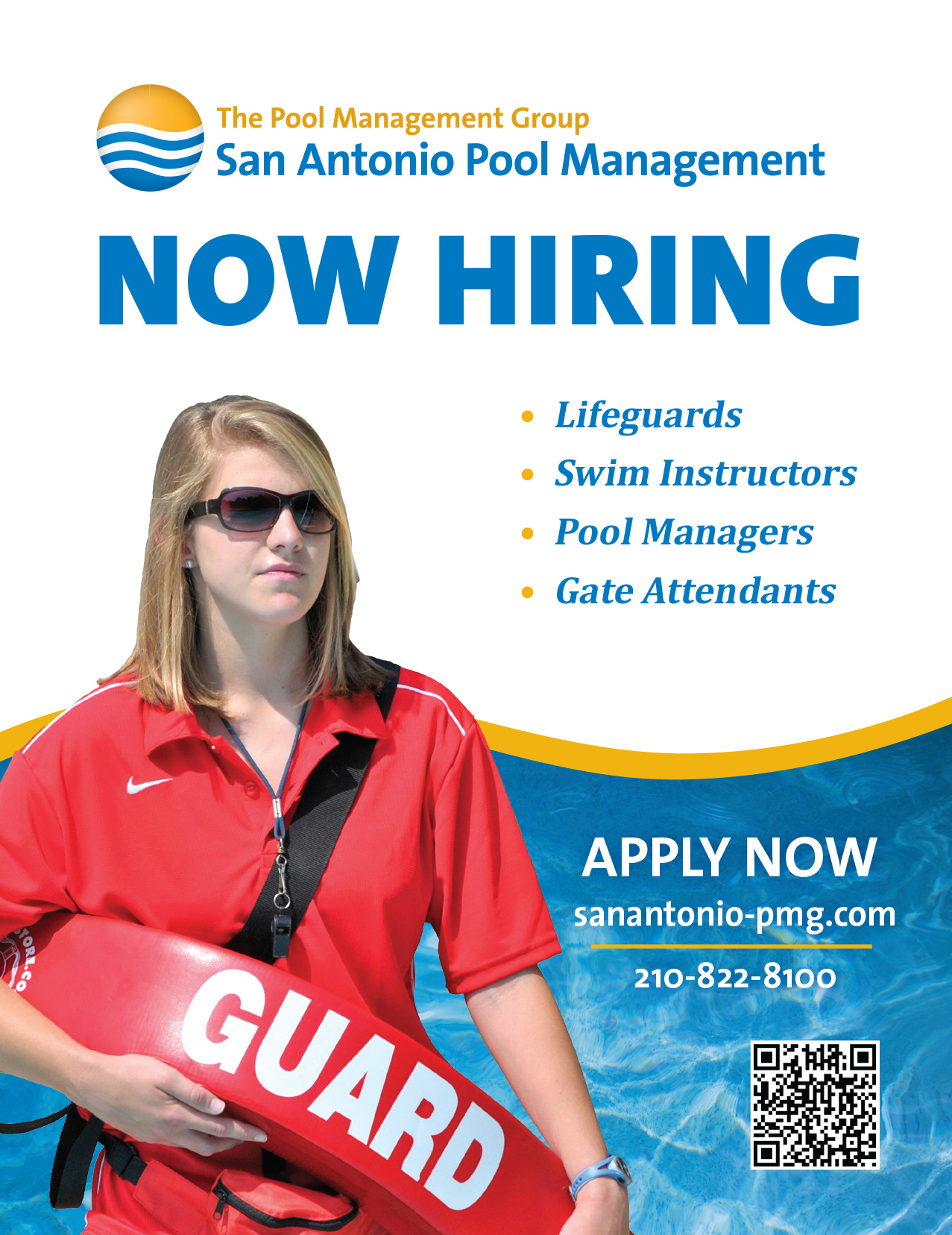 San Antonio Pool Management Advertisement
