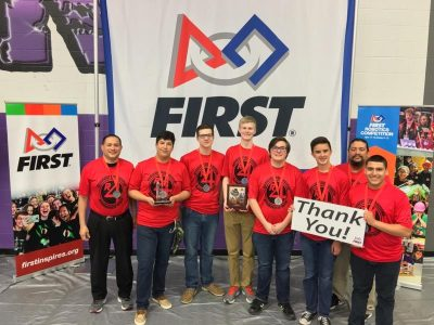 Robotics qualifies for World competition