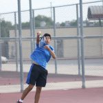 Students, Faculty compete in tennis