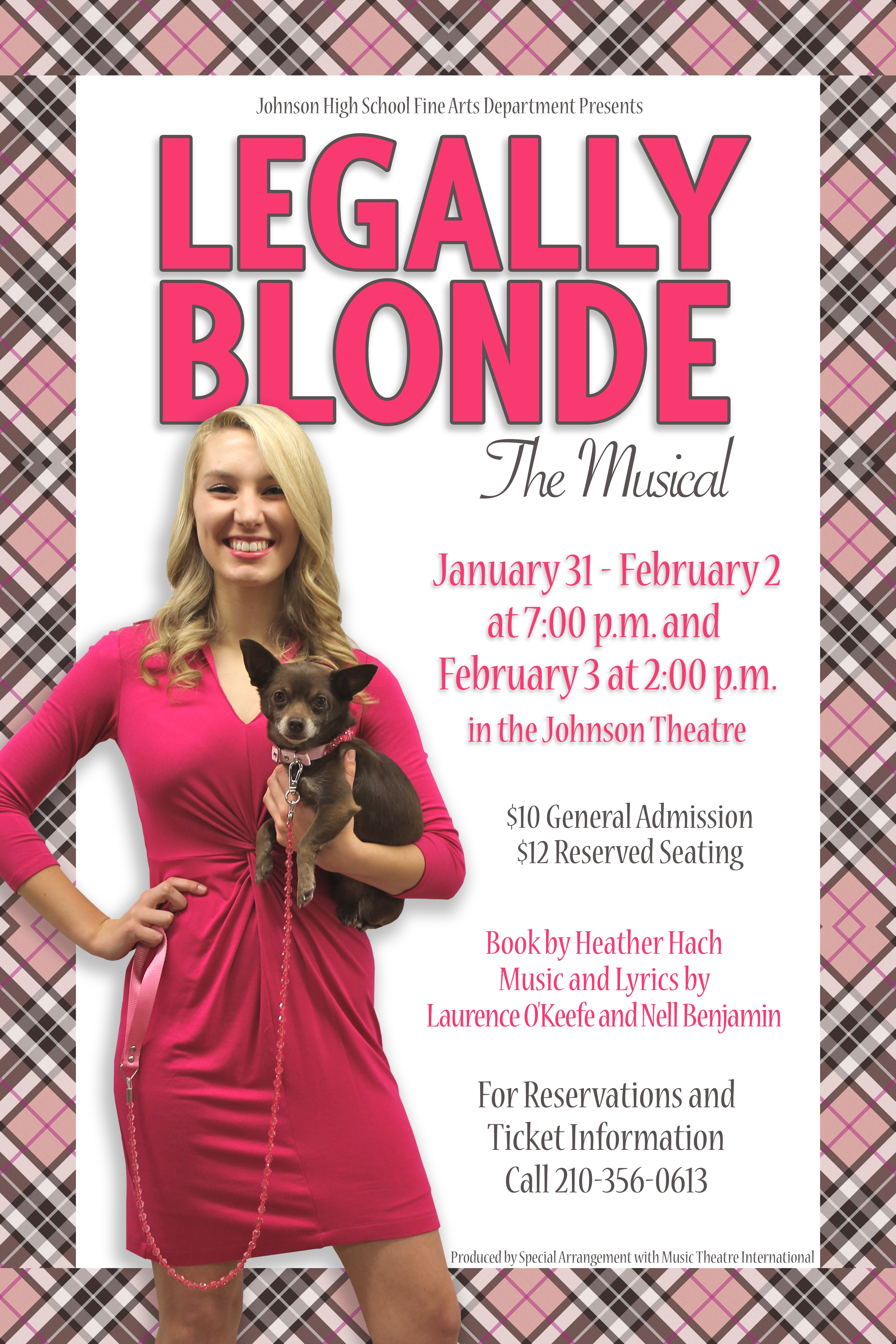 Script for legally blonde