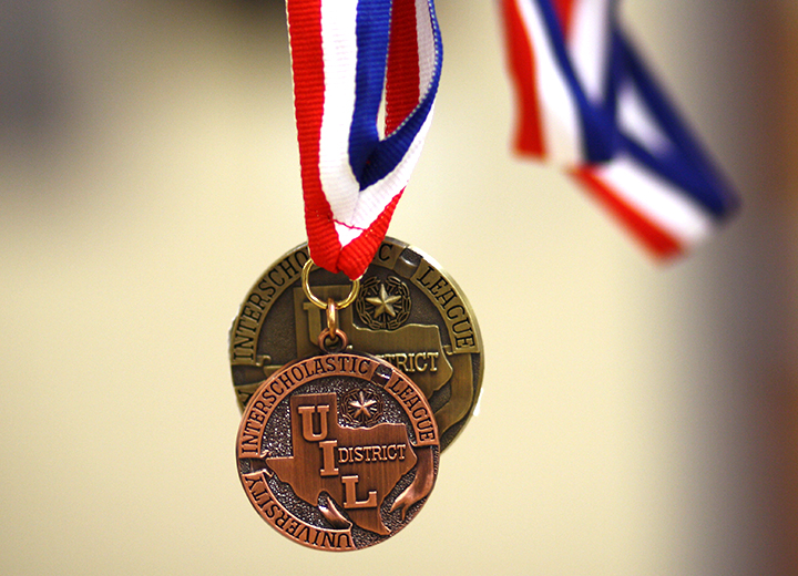 Academic UIL medals