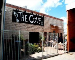 The Cove is a restaurant, laundromat, and carwash in one.