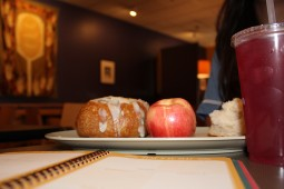 Panera Bread offers quiet seating with minimal distractions to keep you focused.