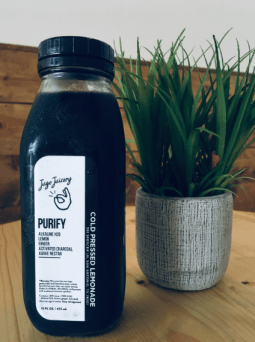 Purify juice from Jugo Juicery. Photo by: Lauryn Hughes