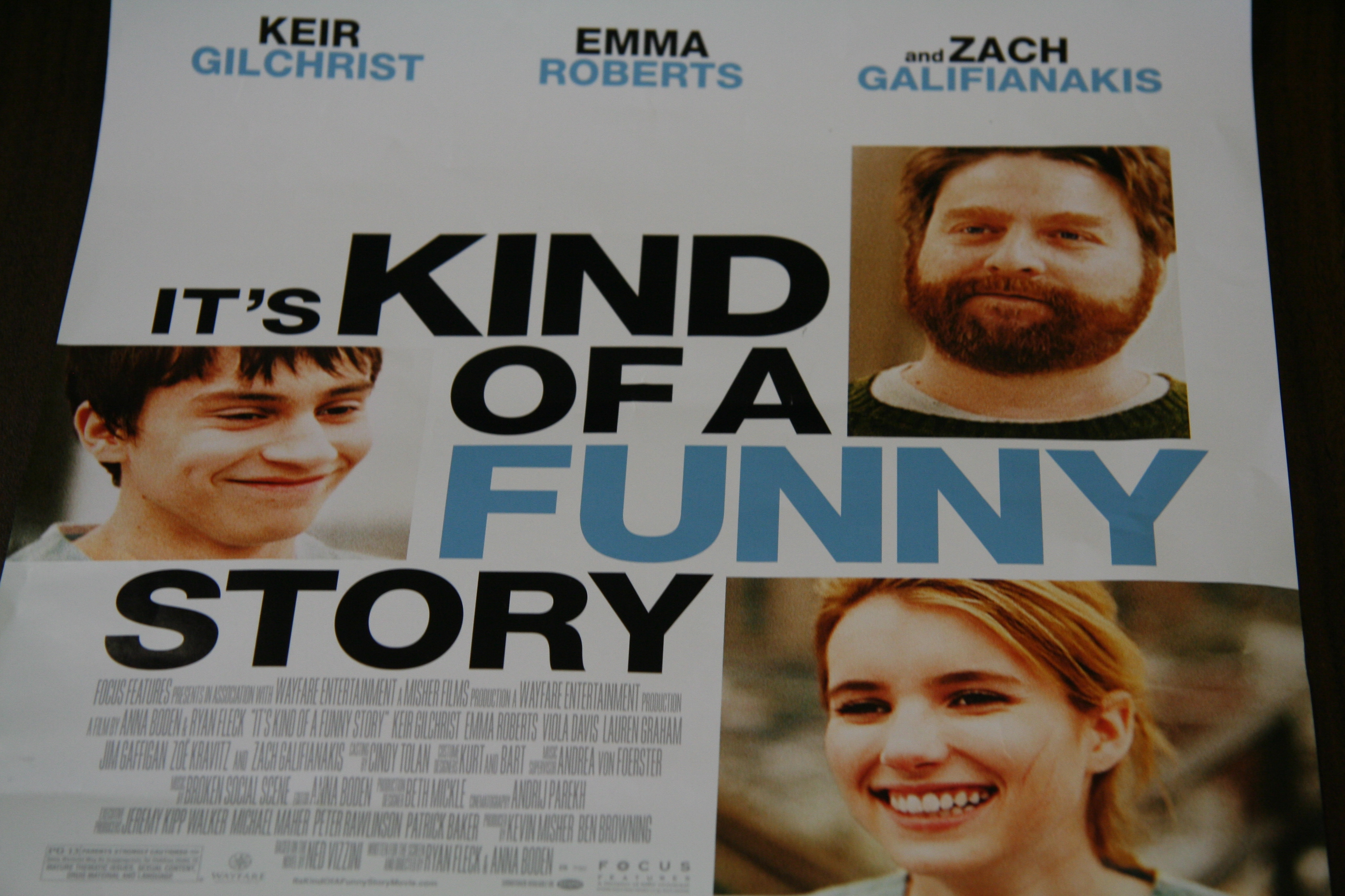"""Its kind of A Funny Story"""