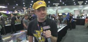 """JewWario"" at a convention in his trademark hat. Picture from Google Images"