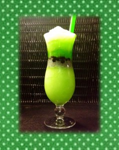 Green apple bubble tea. (Picture provided on their site.)