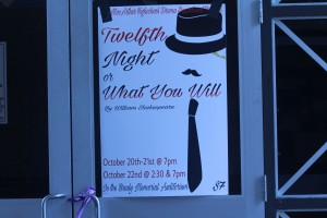"Poster for ""Twelvth Night Or What Will You?"" play by Genesis Argueta"