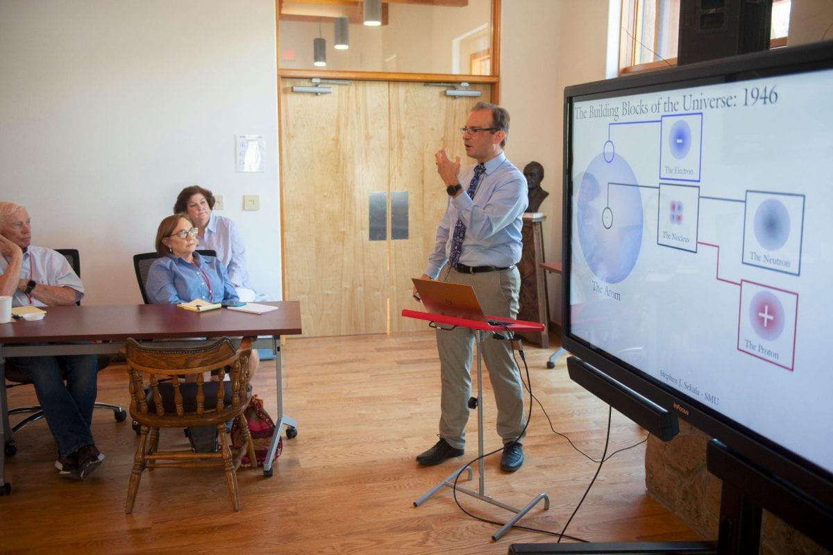 Teaching at the Taos Cultural Institute