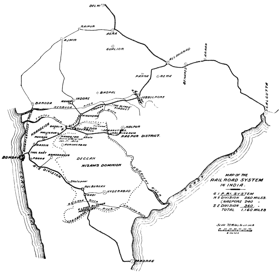Contribution of Railroads in Colonial India and Mexico
