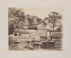 Maharatta Temple with Men