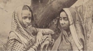 Detail photograph of Nagpur Brahmin Women