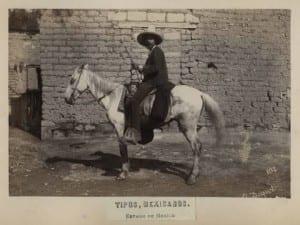 Tipos Mexicanos Man on Horseback