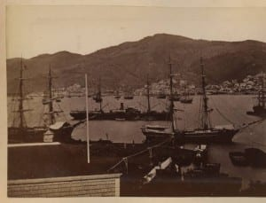 Many ships at rest in Mexican harbor