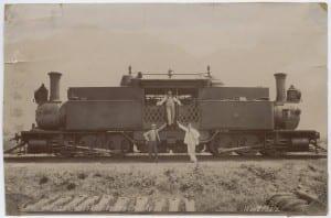 Locomotive near Vera-Cruz