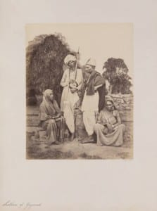 two indian males, two females