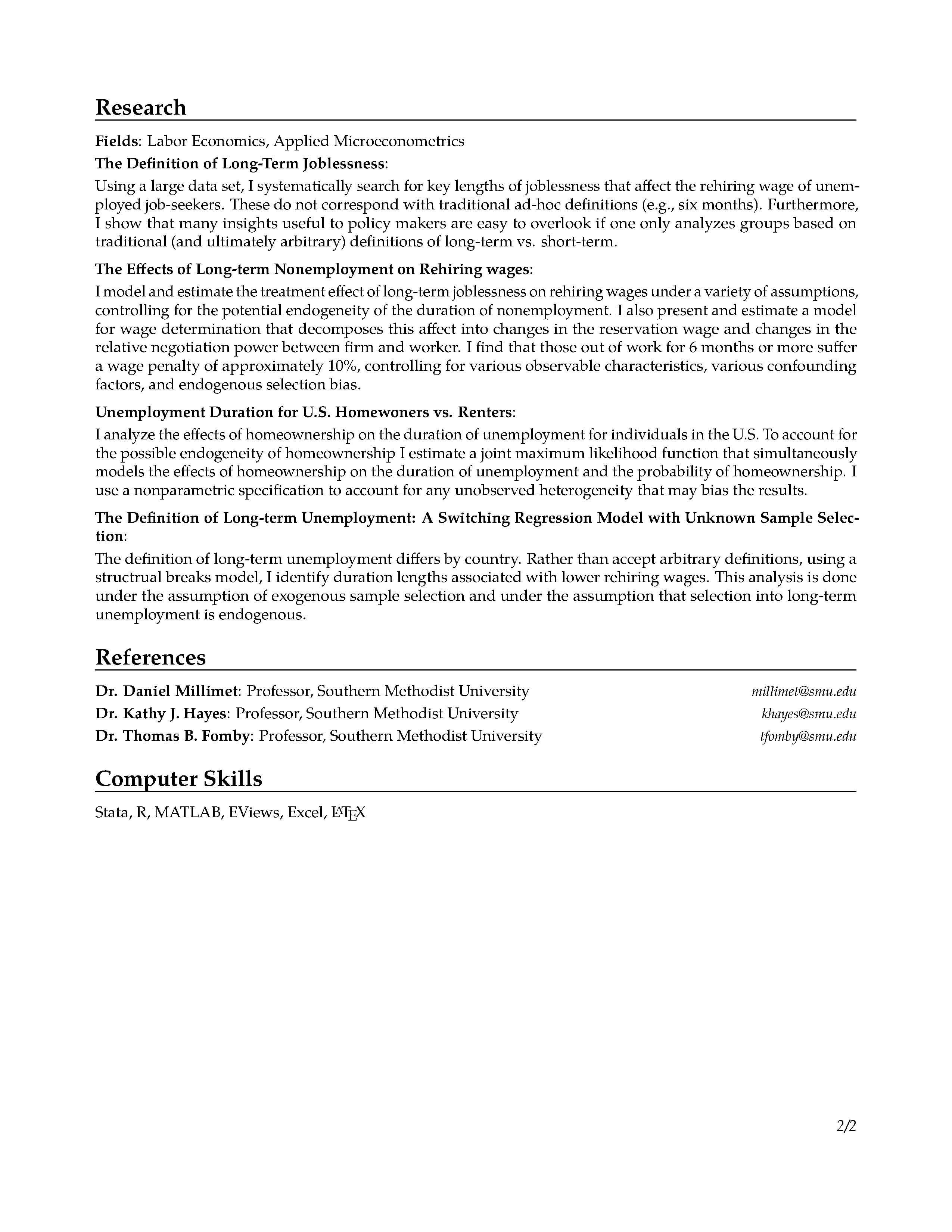 curriculum vitae gregory johnson cv page2