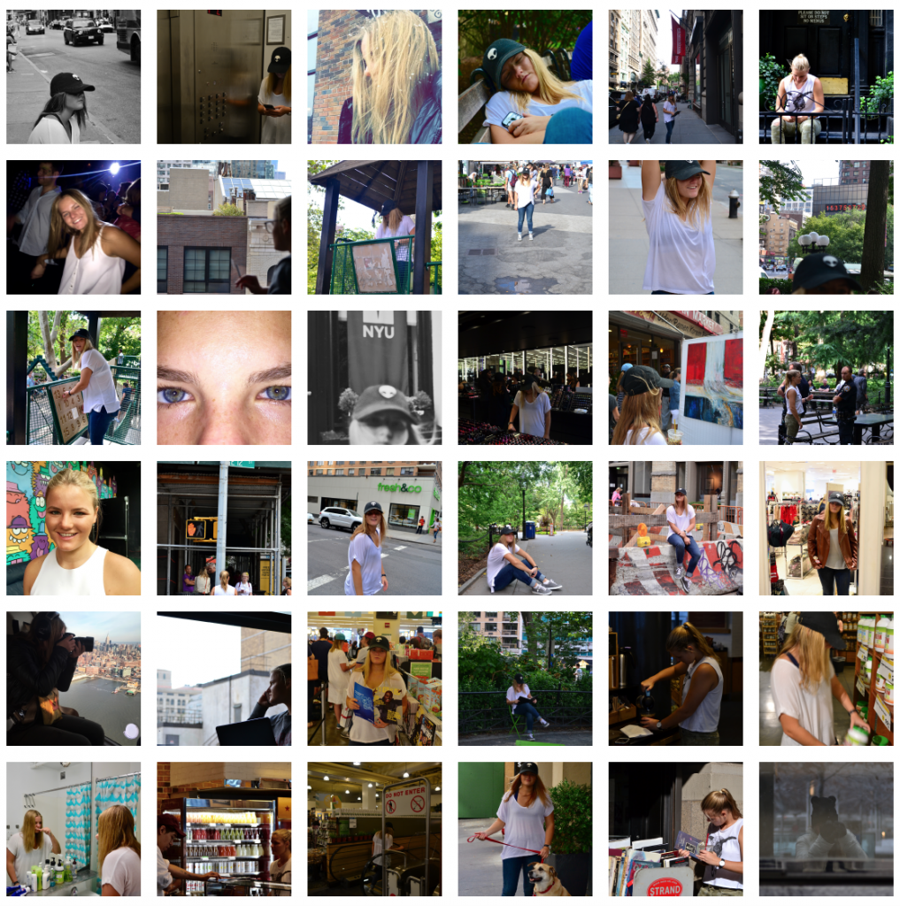 Selfie Grid Assignment
