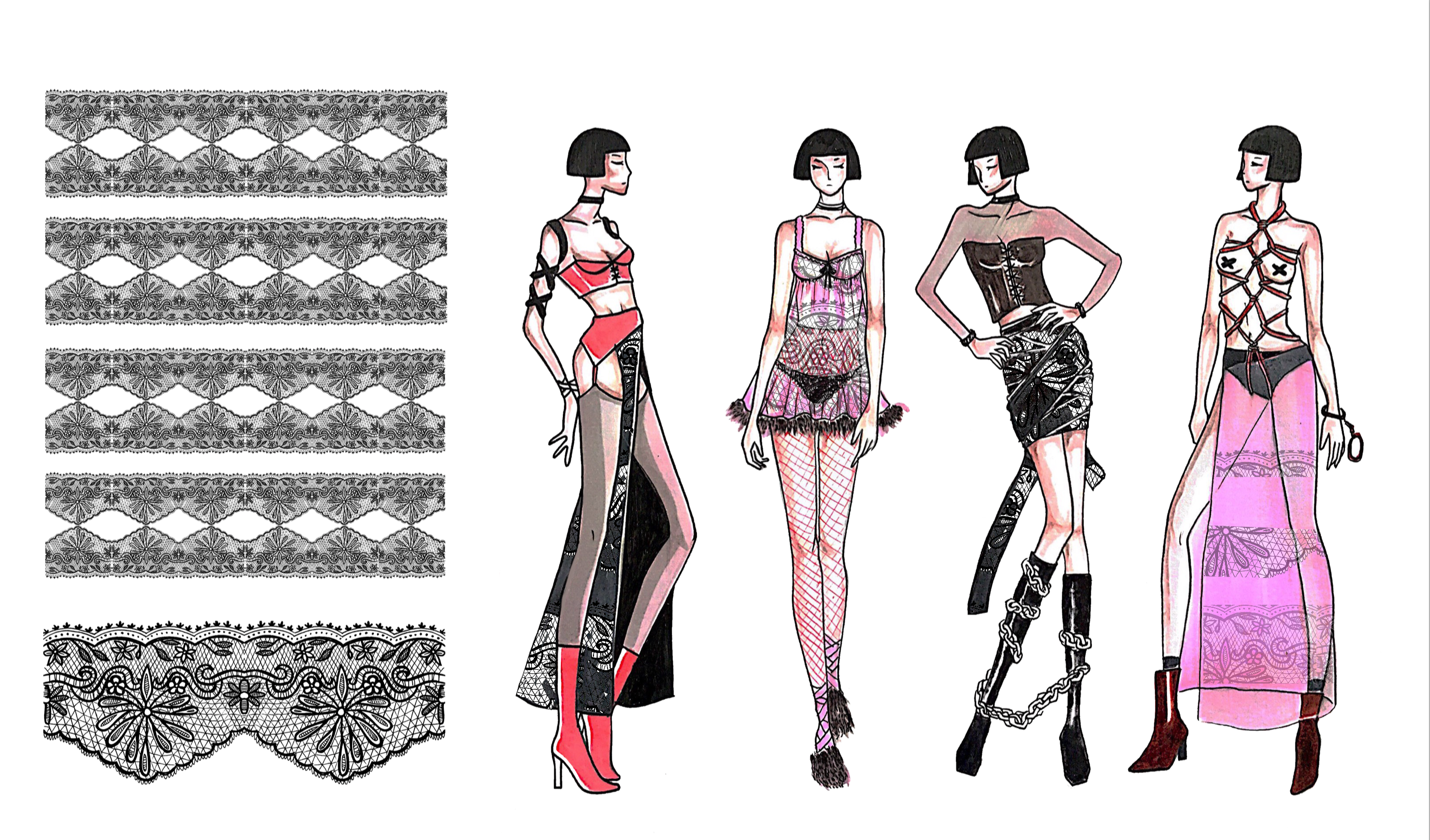 LP WK 8/ Project Submission & Reflection Collection Development (Illustrations & Surface Design)
