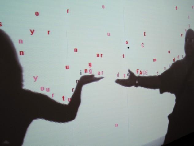 Text Rain, Romy Achituv & Camille Utterback 1999