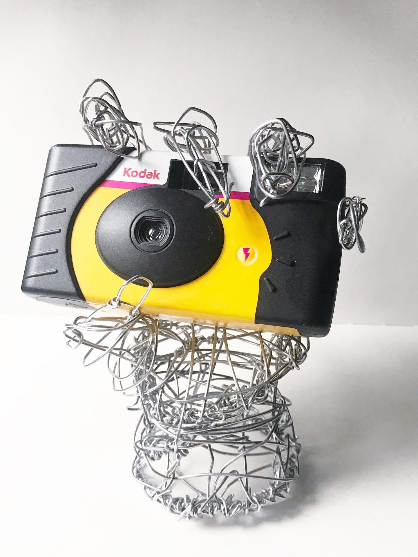 Wire Hand Sculpture