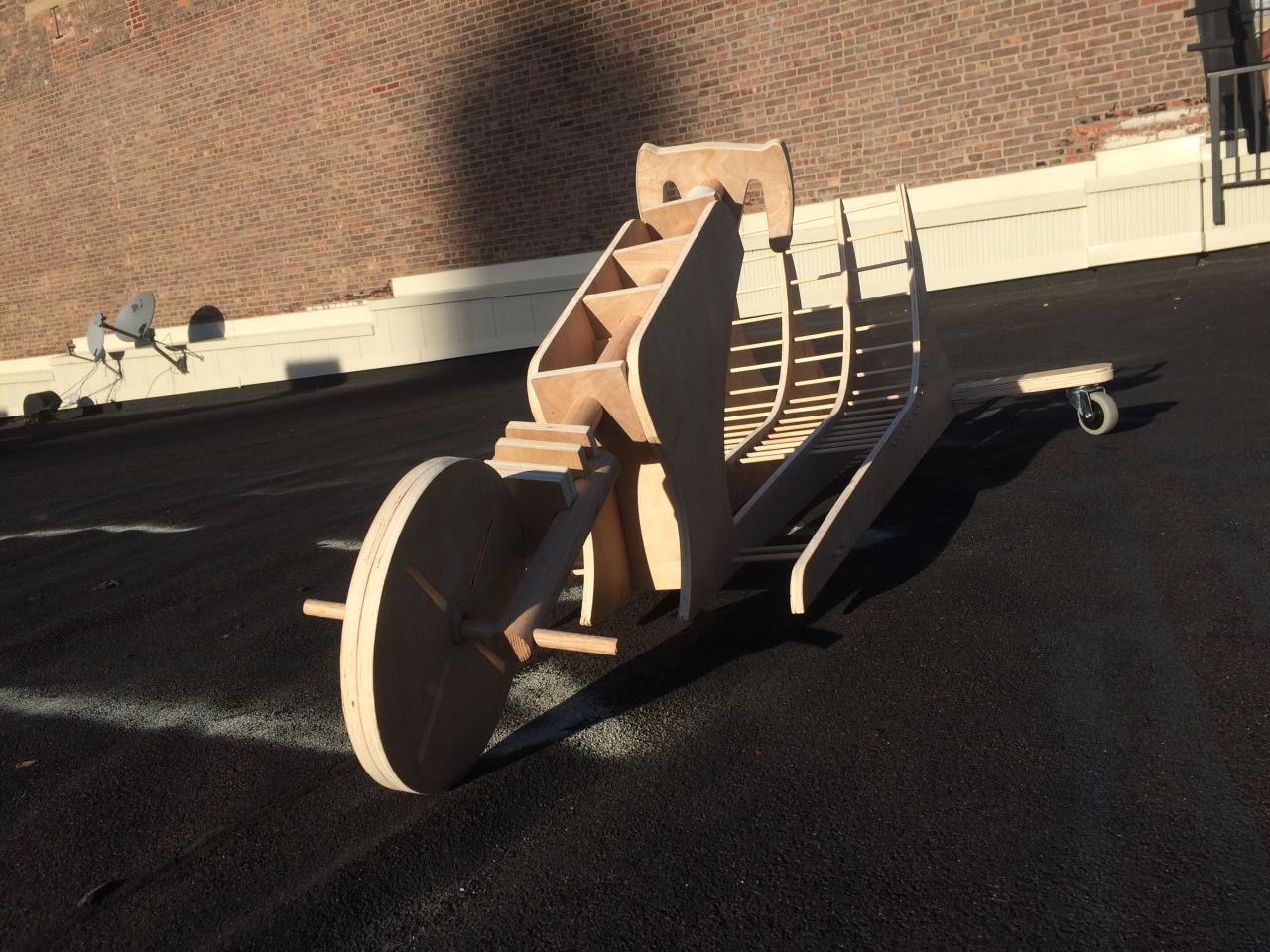 Drift Trike Prototype 2015 Max Ginesin
