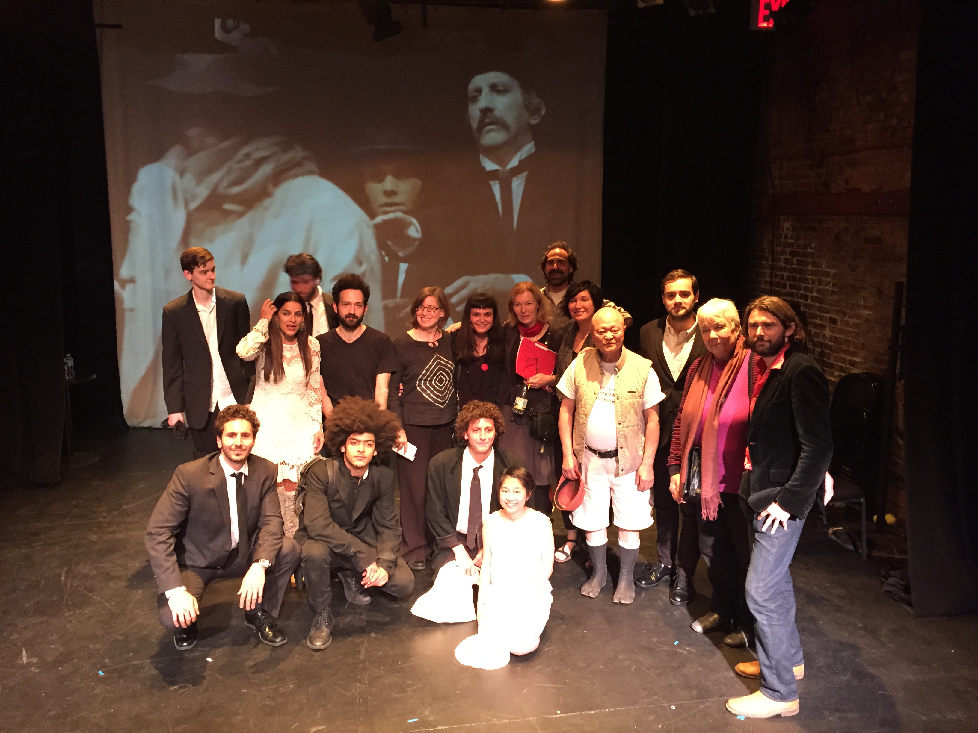 """""""Further On, Nothing"""" Conceived and Directed by Zishan Ugurlu is performed, featuring Lang Alumni and current students"""