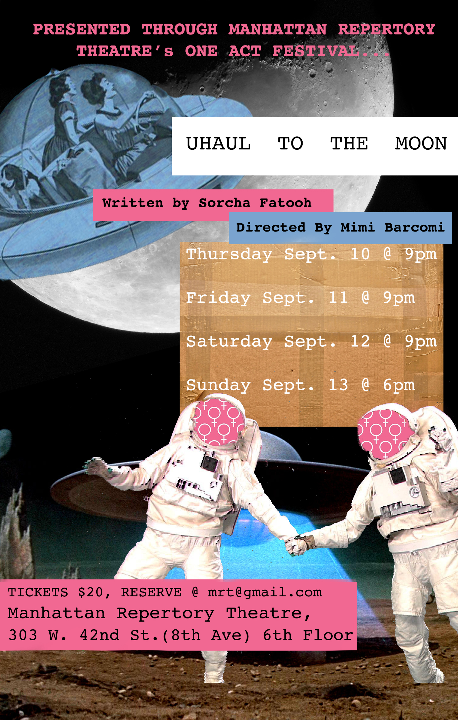 Lang Alum Mimi Barcomi's Play Premieres at Manhattan Repertory Theatre