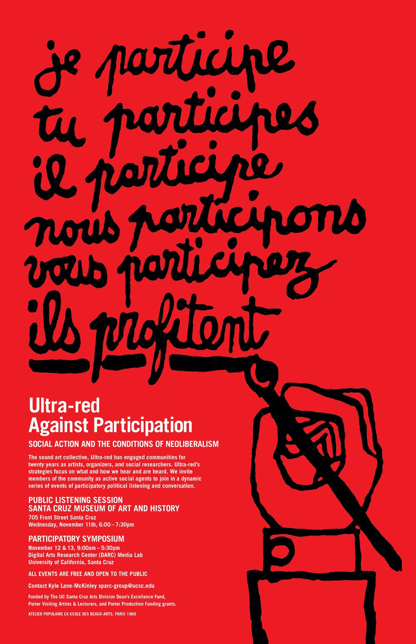 Robert Sember at Against Participation: Social Action and the Conditions of Neoliberalism