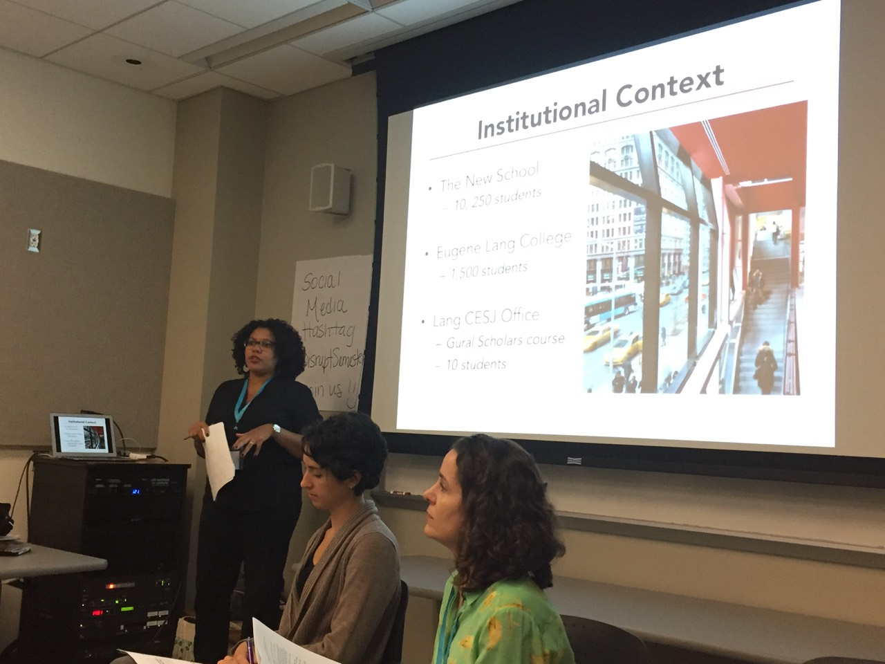 Judy Pryor-Ramirez presents at Imagining America Conference