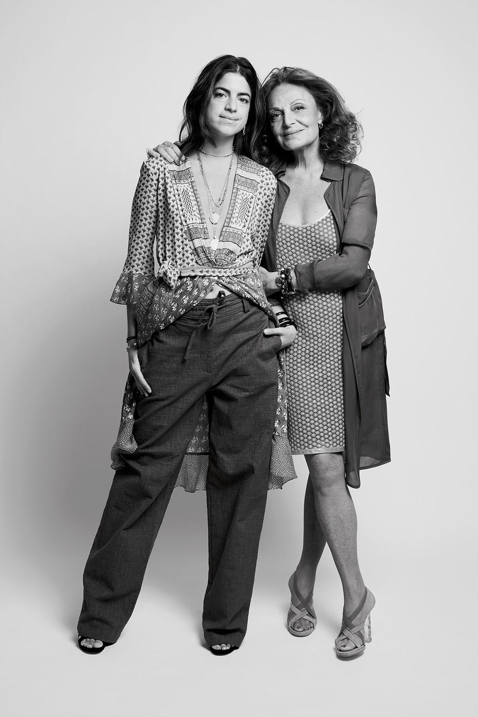 Lang Alum, Leandra Medine, in conversation with Diane Von Furstenberg
