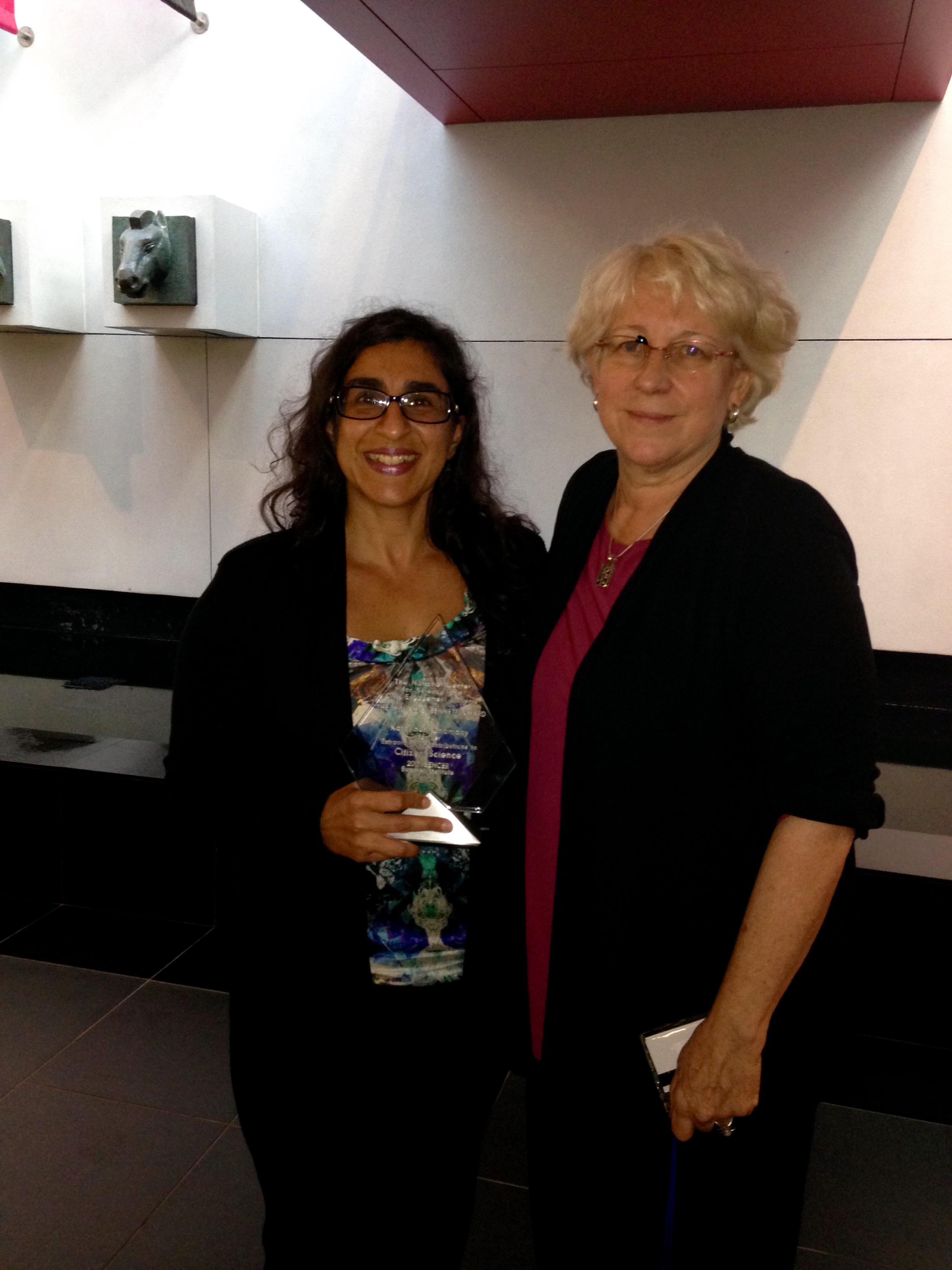 Katayoun Chamany Receives Citizen Science Award