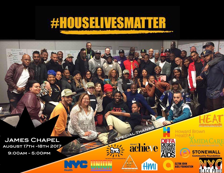Robert Sember participates in #House Lives Matter Convening