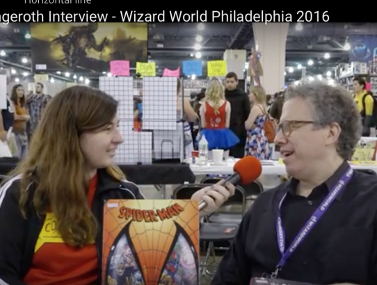 Danny Fingeroth Interview at Wizard World Philadelphia 2016