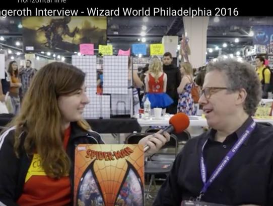 Danny Fingeroth Interview at Wizard World Philadelphia 2016