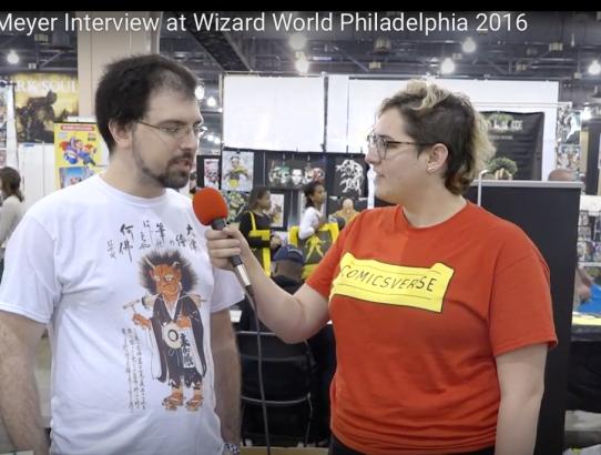 Matthew Meyer Interview at Wizard World Philadelphia 2016