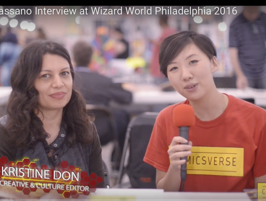 Christa Cassano Interview at Wizard World Philadelphia 2016