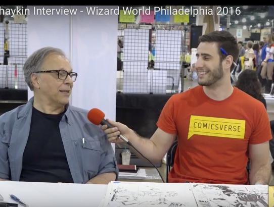 Howard Chaykin Interview - Wizard World Philadelphia 2016